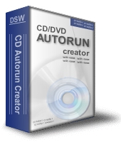 CD Autorun Creator screenshot: menu, frontend, autorun, cd autorun, build, create, autorun buil